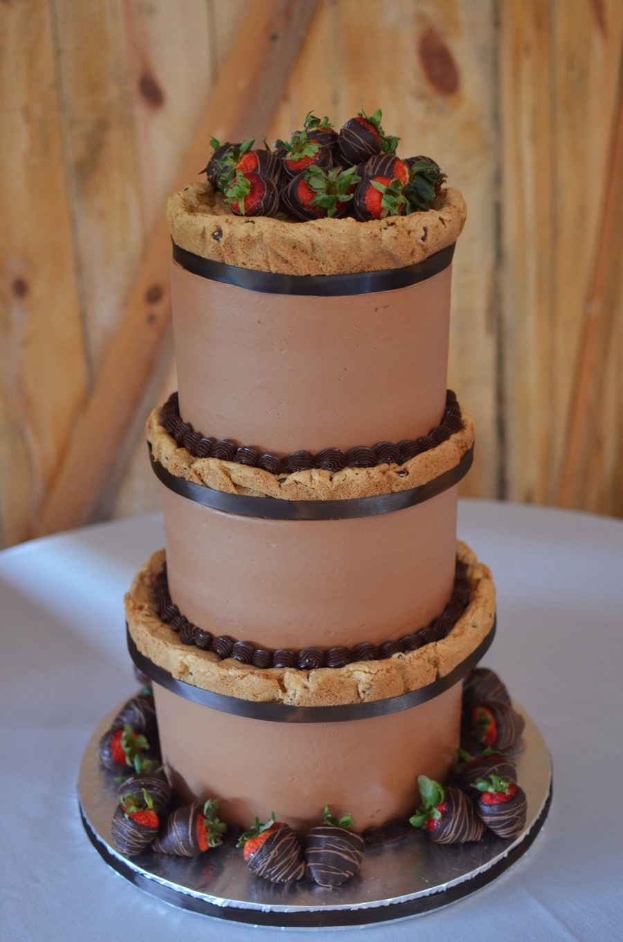 Chocolate Chip Cookie Grooms Cake