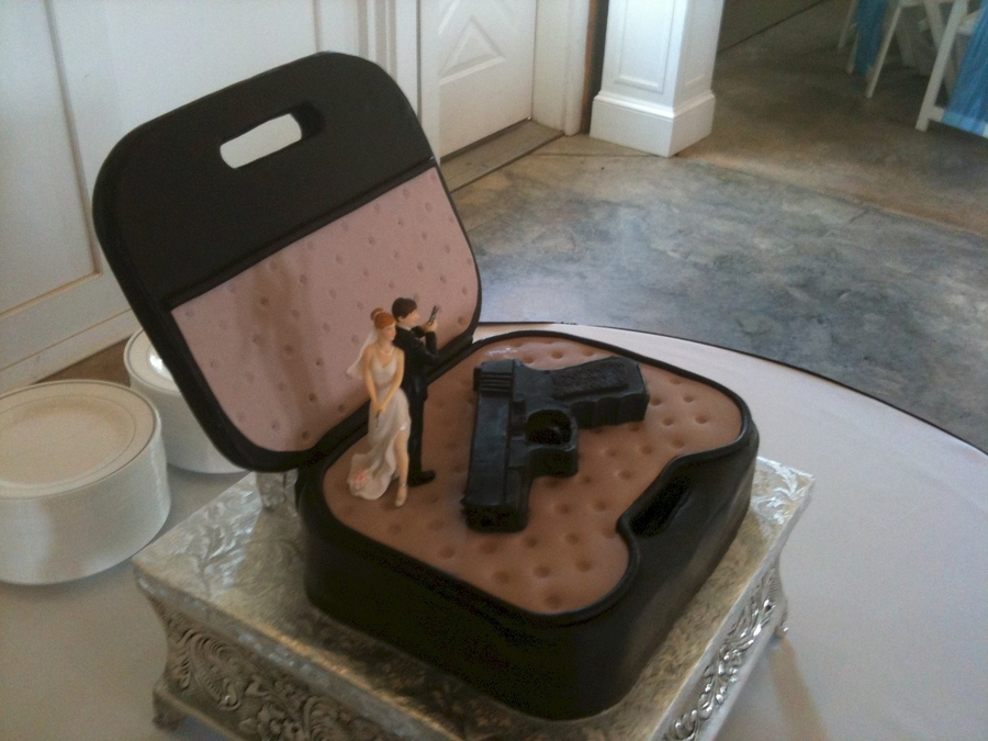 Glock 9Mm Pistol Grooms Cake on Cake Central
