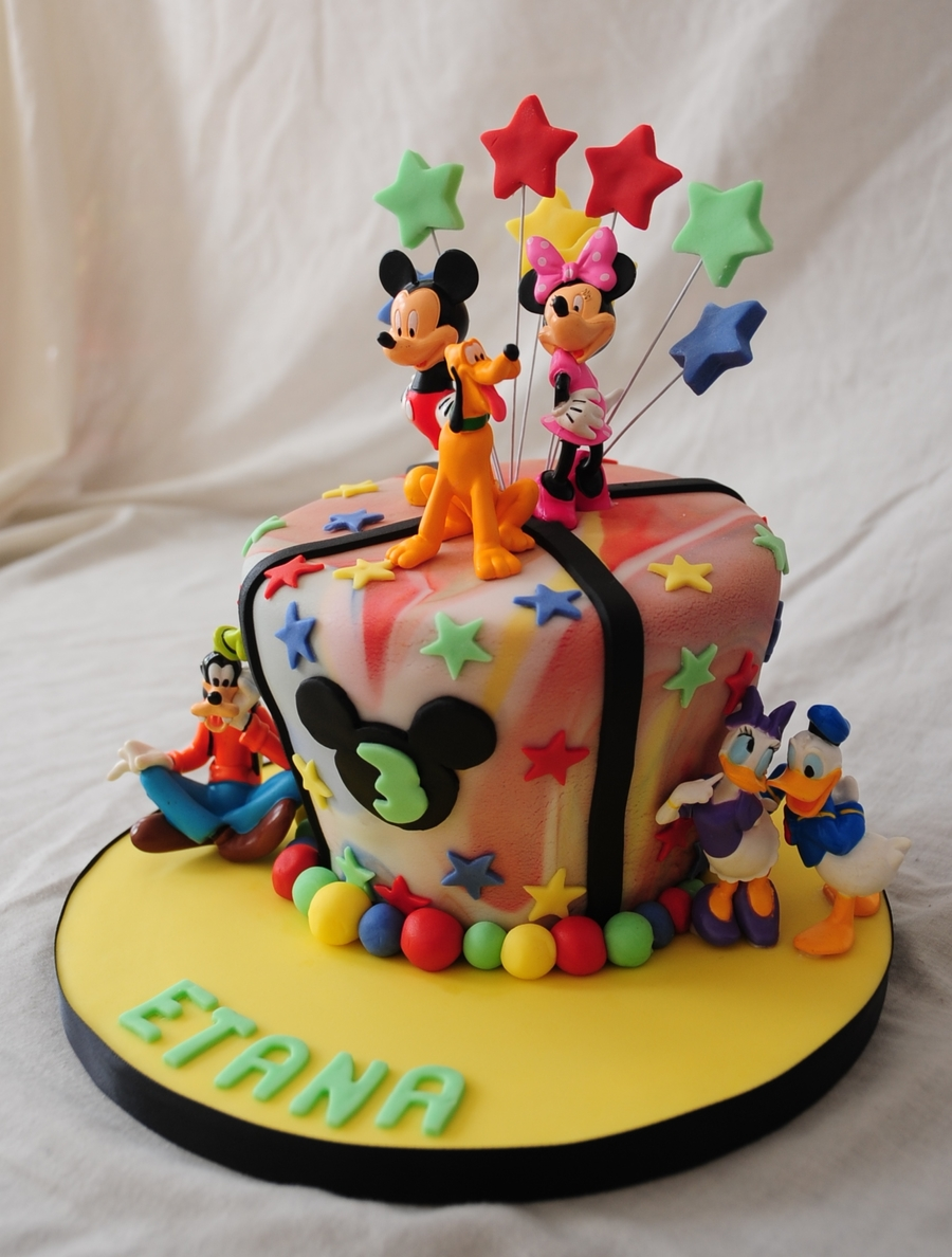 Disney Theme on Cake Central