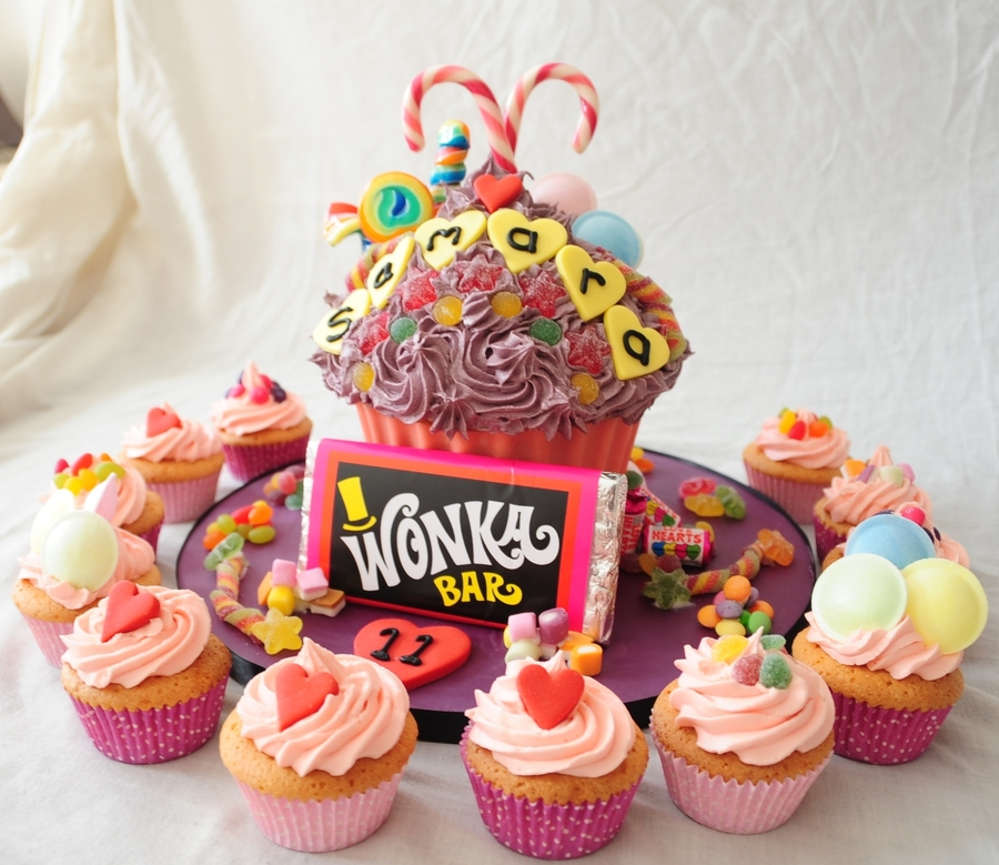 Giant Cupcake Sweetie Cake  on Cake Central