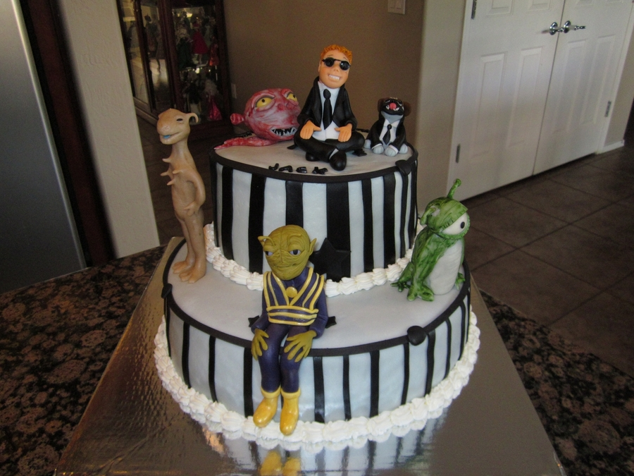 """men In Black"" on Cake Central"