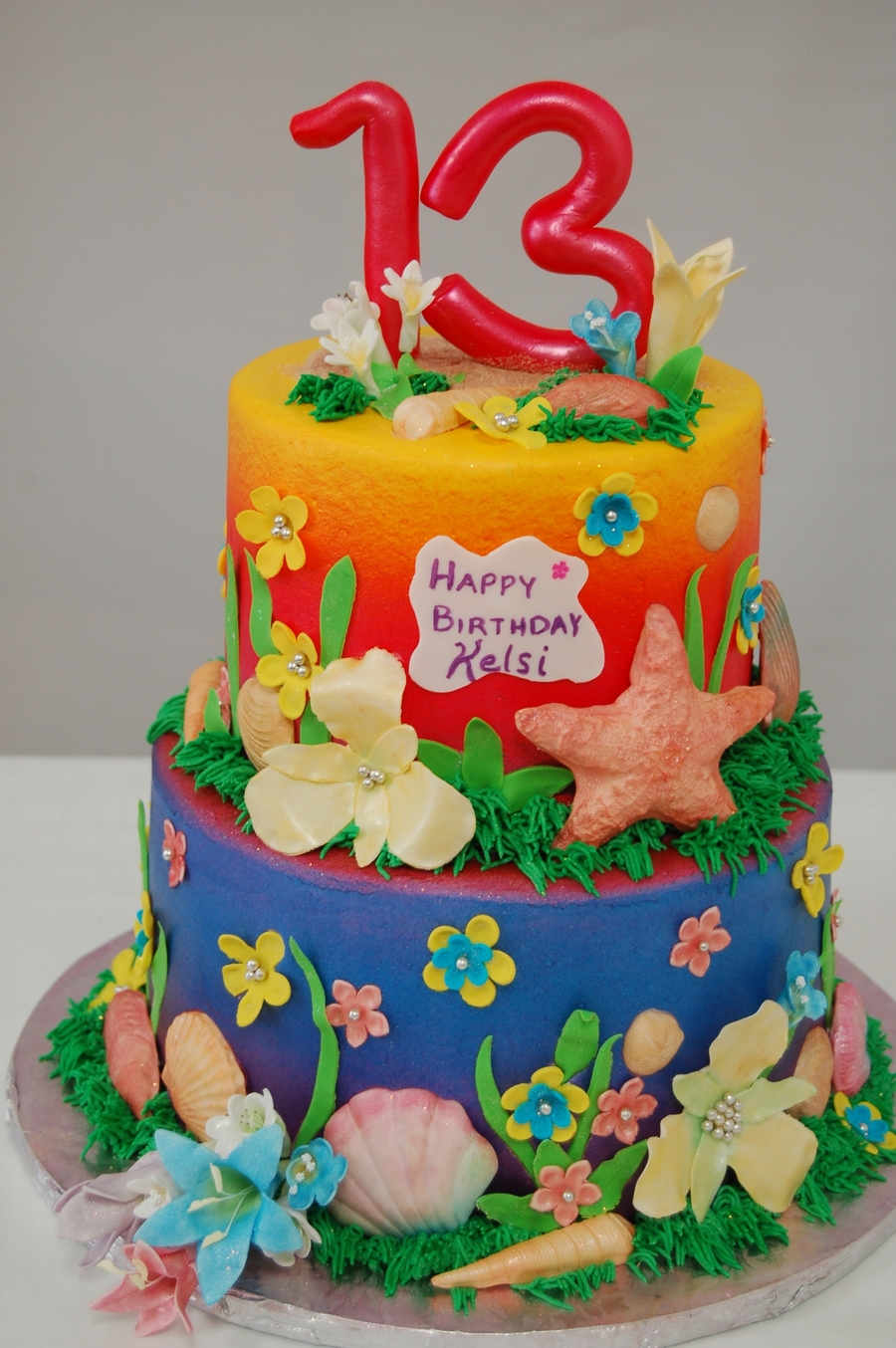 Tropical Birthday on Cake Central