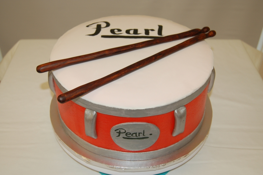 For The Drummer on Cake Central