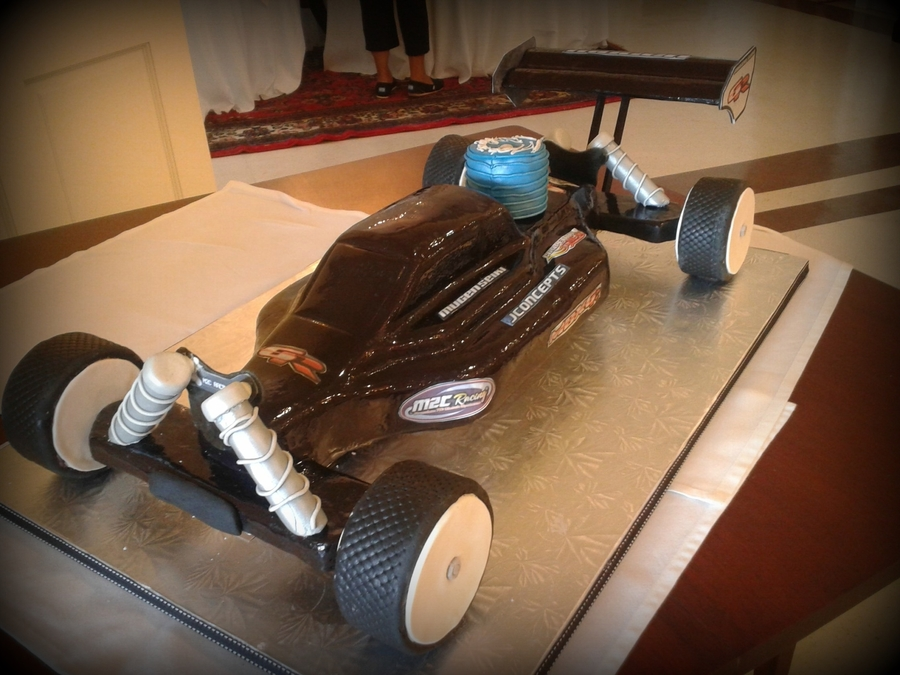 Remote Control Car Groom's Cake  on Cake Central