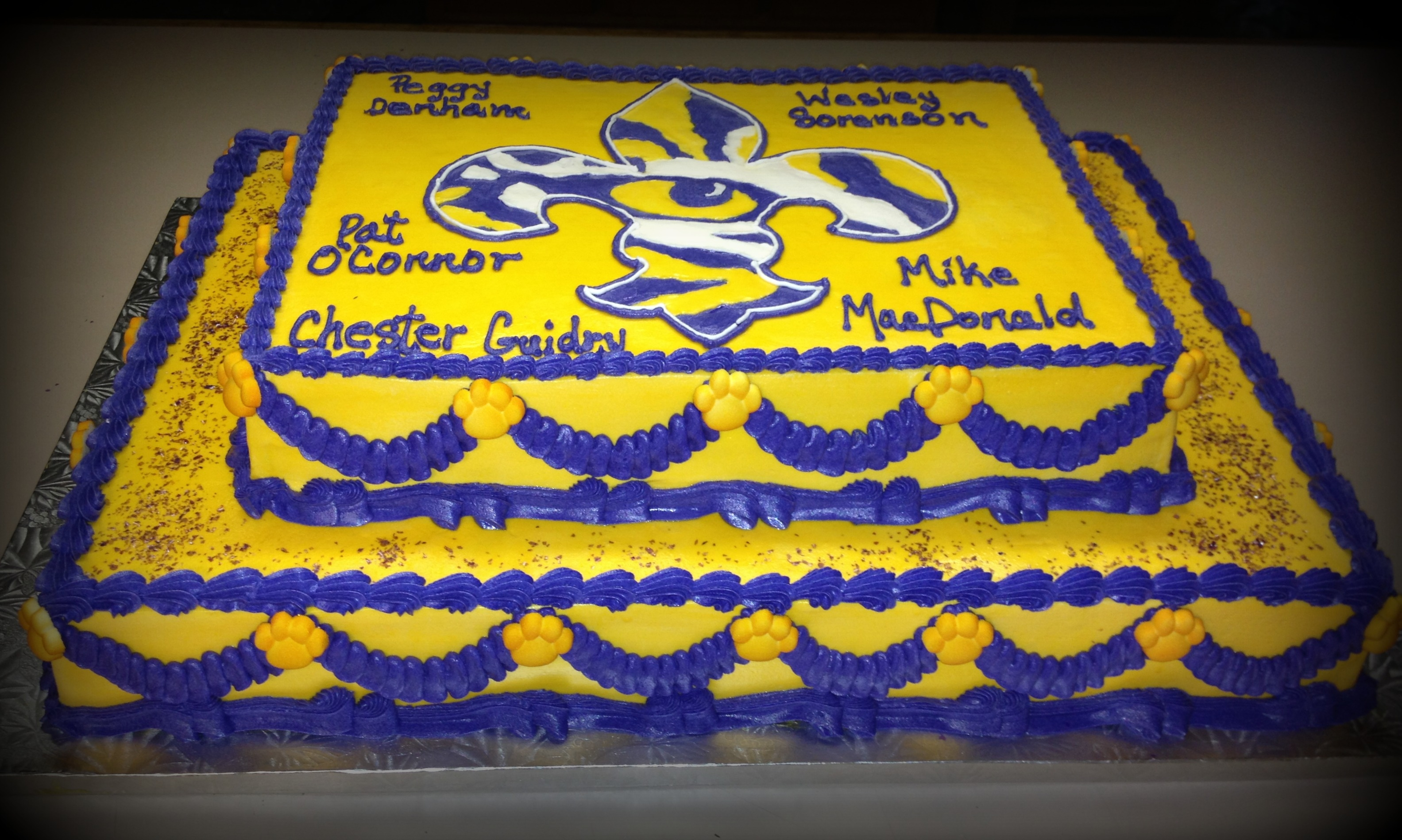 Lsu Retirement Cake on Cake Central