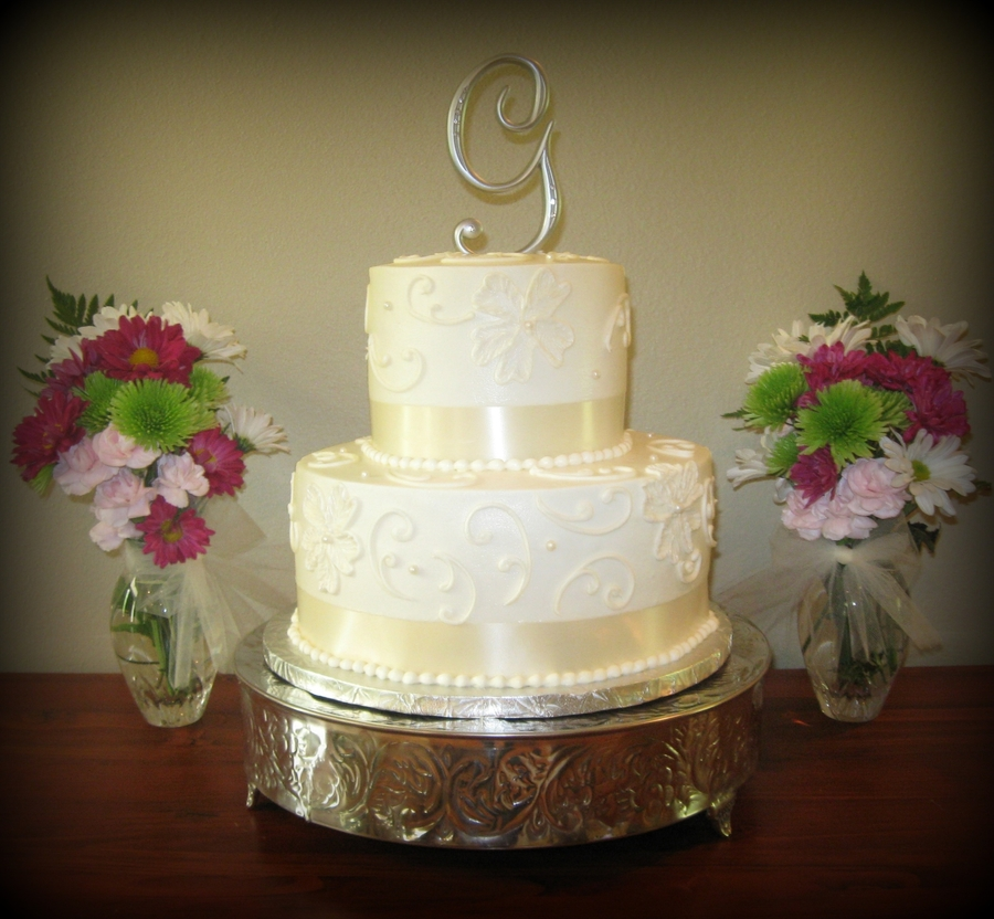 Ivory Butter Cream on Cake Central
