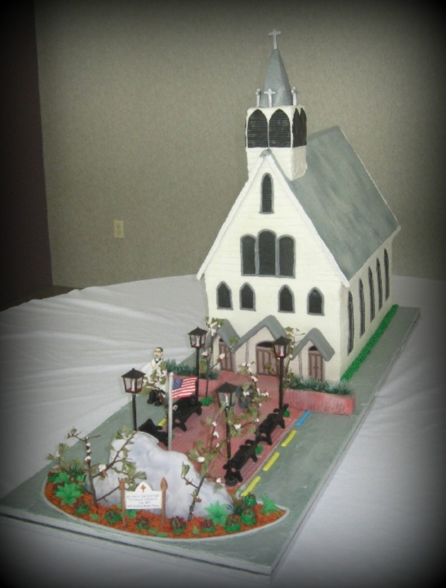 Church Cake on Cake Central