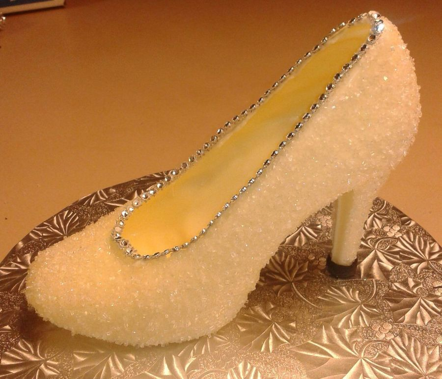 White Chocolate Shoe on Cake Central