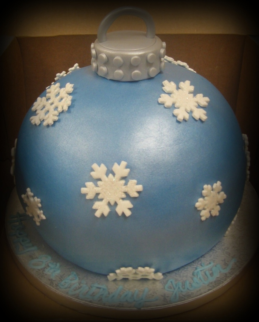 Ornament Cake on Cake Central