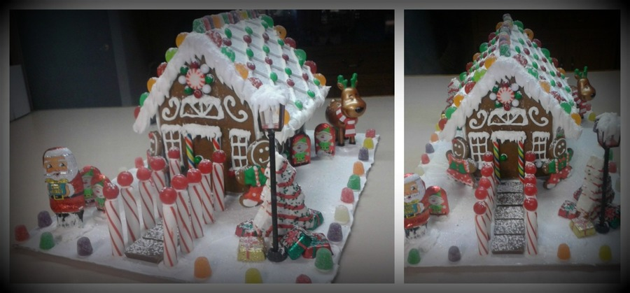 Edible Gingerbread House on Cake Central