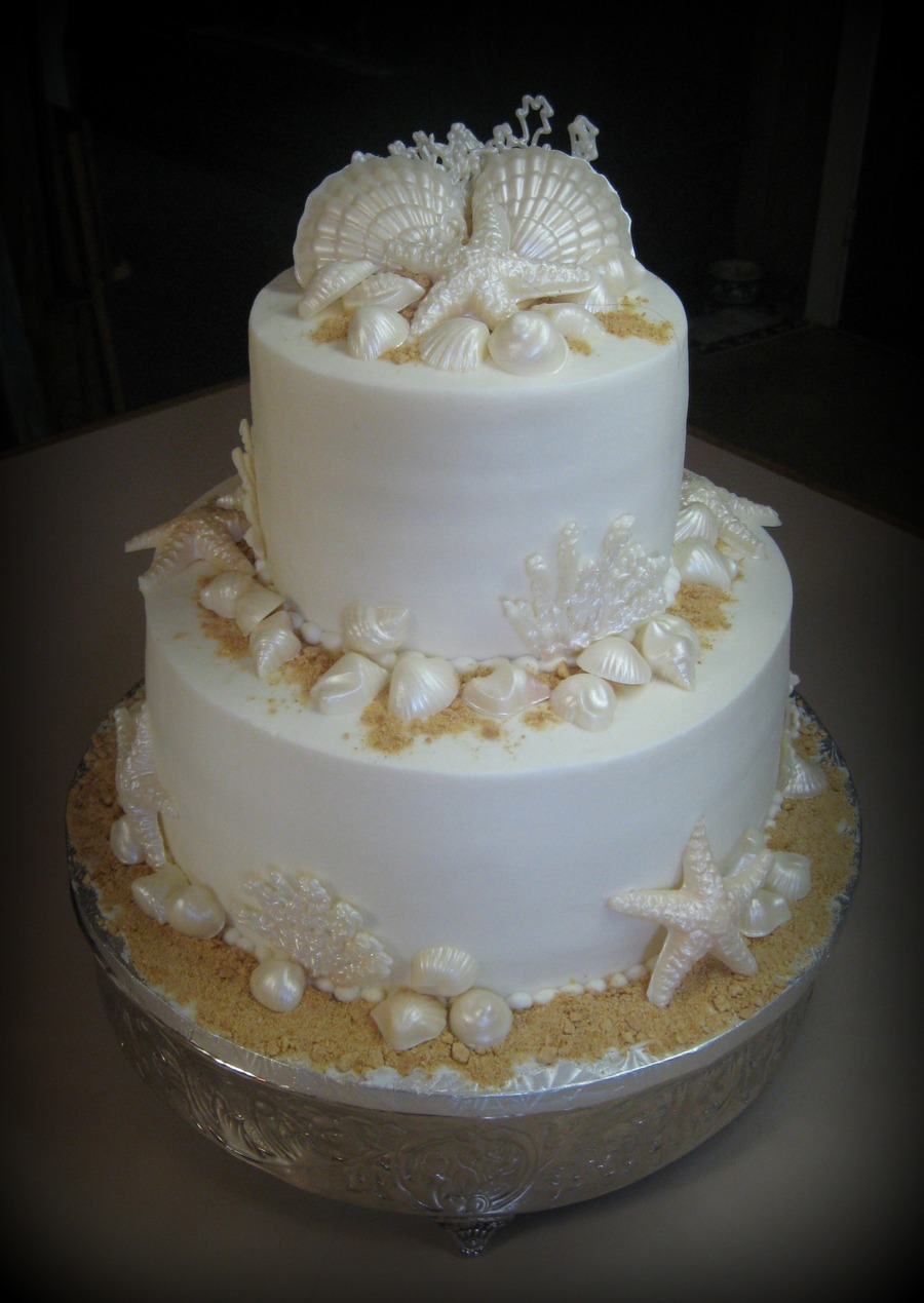 Sea Shells on Cake Central