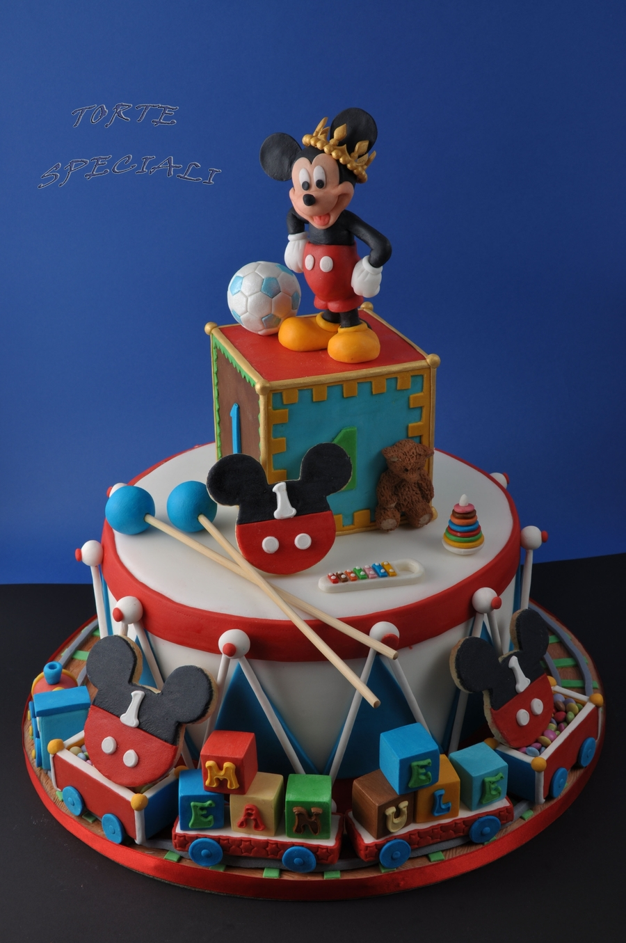 Mickey Mouse Cake Cakecentral Com