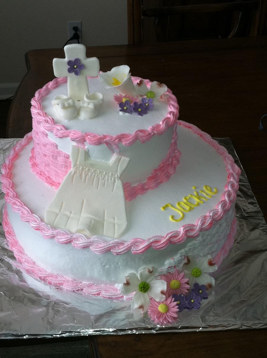 Pastel De Nina Para Bautizo Cakecentral Com