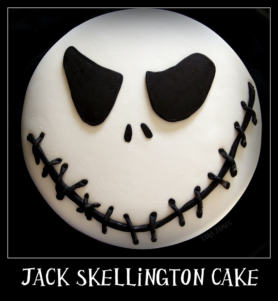 Jack Skellington Cake  on Cake Central