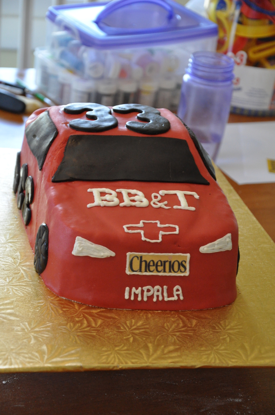 Racecar on Cake Central