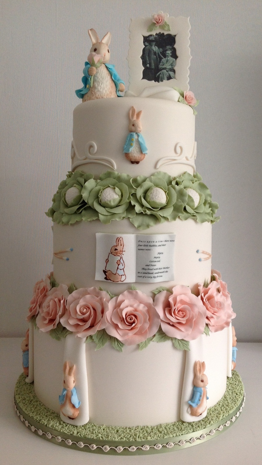 Peter Rabbit Wedding Cake Cakecentral Com