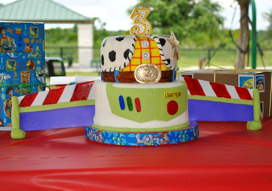 Fantastic Toy Story Birthday Cakecentral Com Funny Birthday Cards Online Overcheapnameinfo