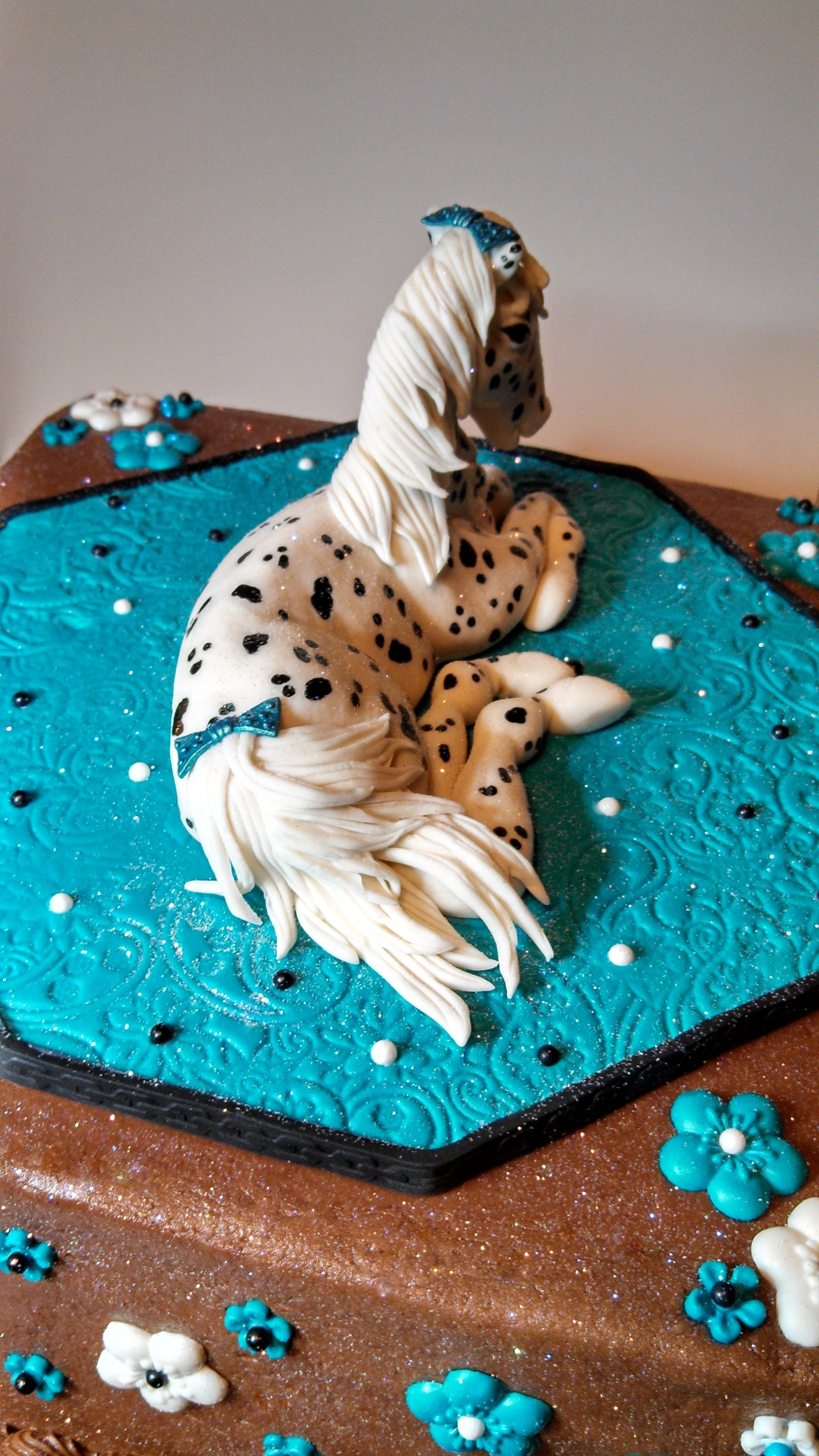 Appoloosa Spotted Horse Cake Cakecentral Com