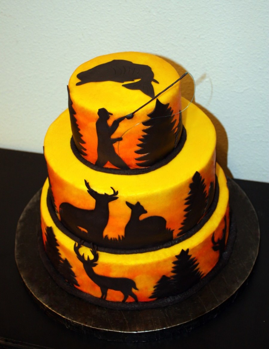 Hunting Amp Fishing Cake Cakecentral Com