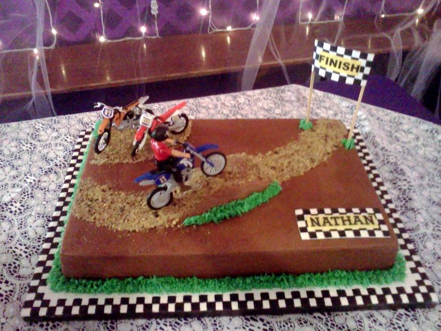 Motorcross Grooms Cake Cakecentral Com