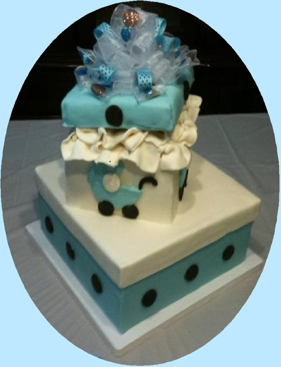 Tori's Baby Shower Cake on Cake Central