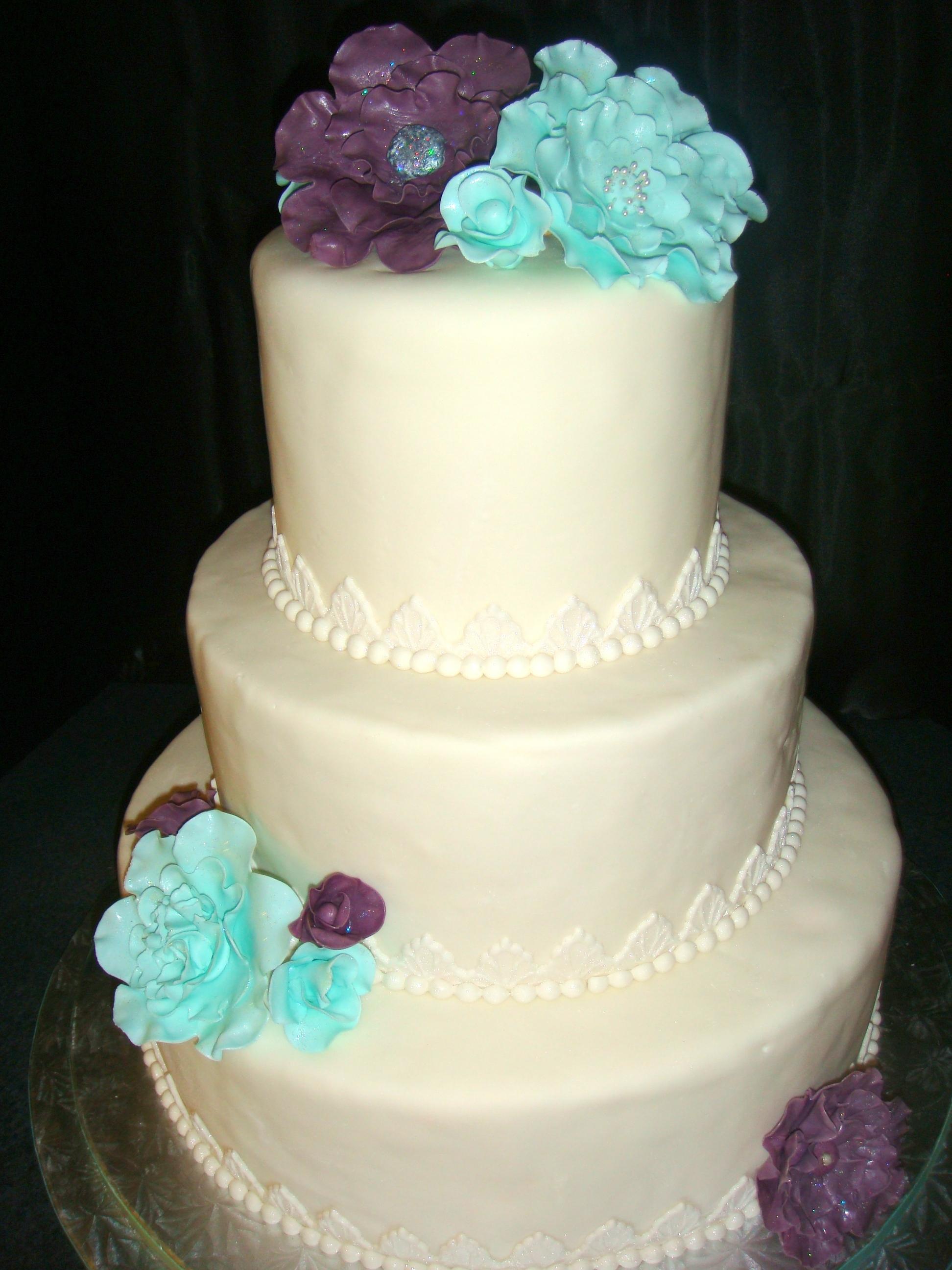 Wedding Cake For Riverboat Venue - CakeCentral.com