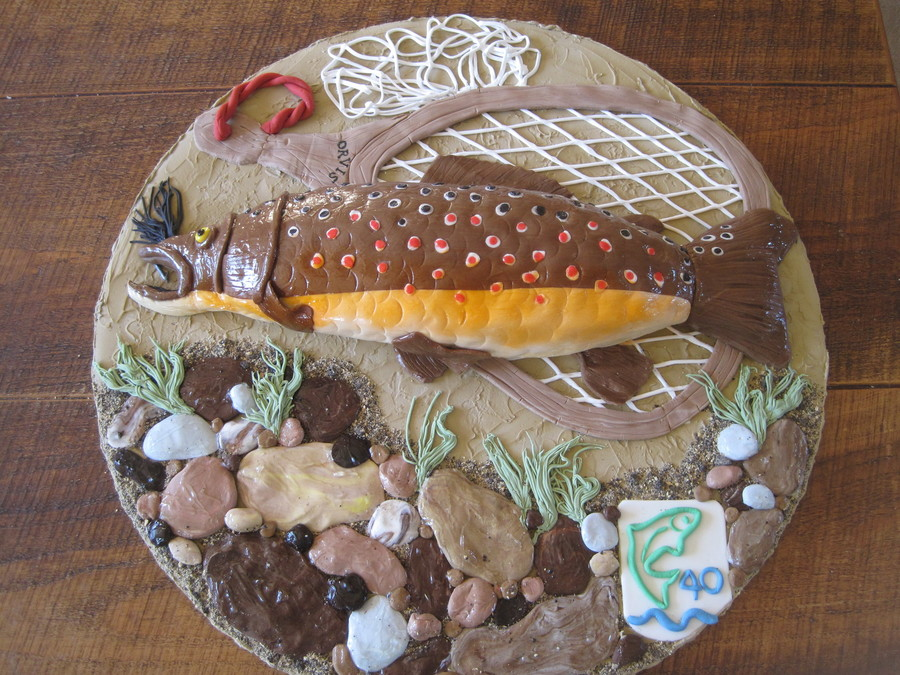 Brown Trout on Cake Central