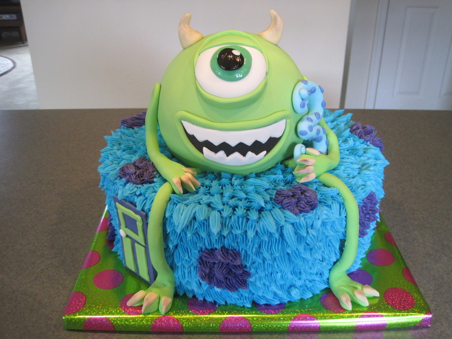 Monsters Birthday - CakeCentral.com