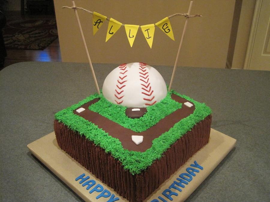 Baseball Softball Birthday Cakecentral