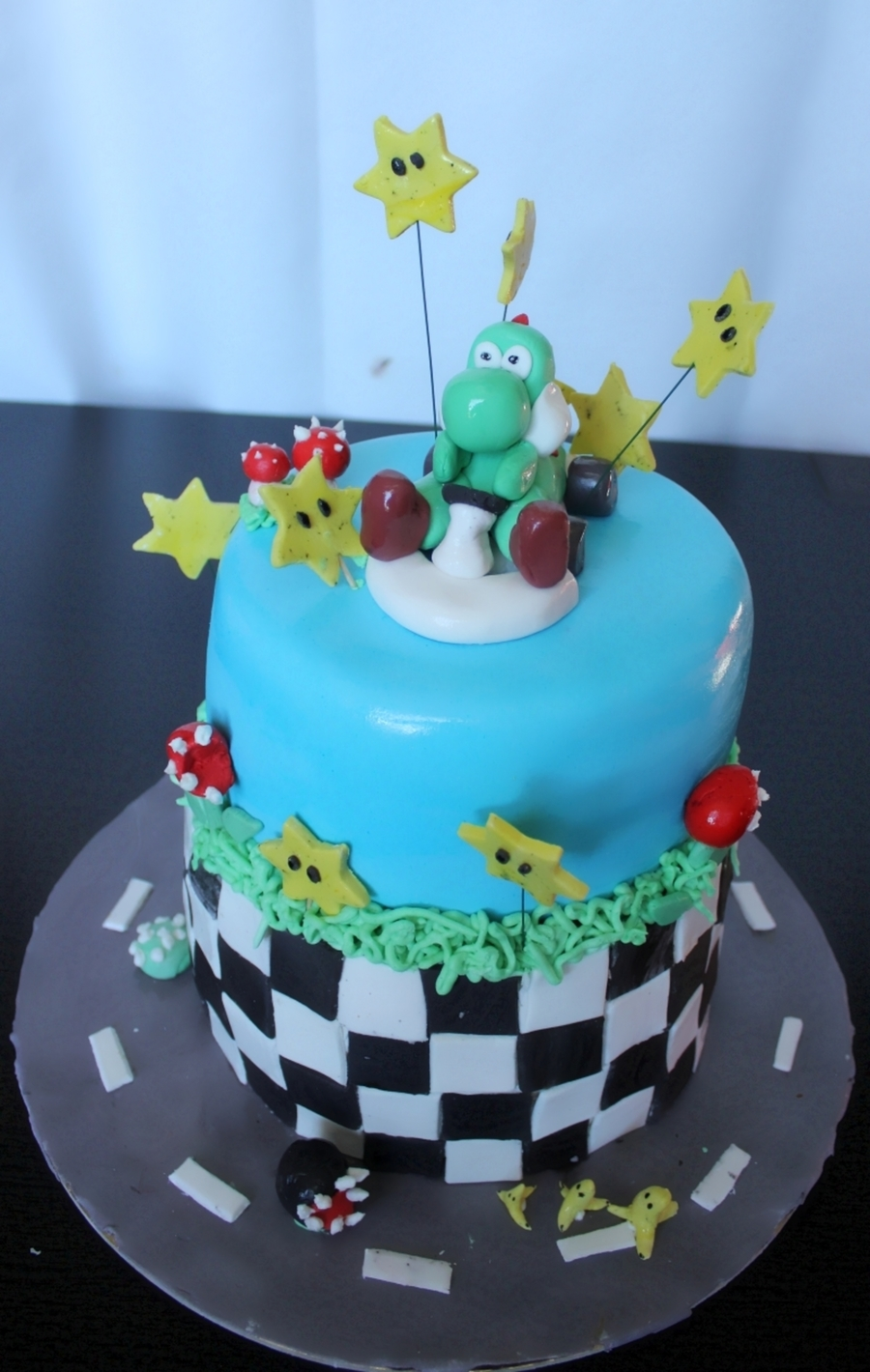 Mario Kart Wee Yoshi Cakecentral Com