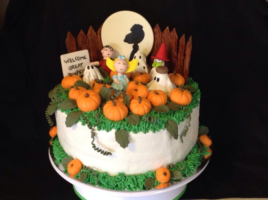 In The Pumpkin Patch - CakeCentral.com
