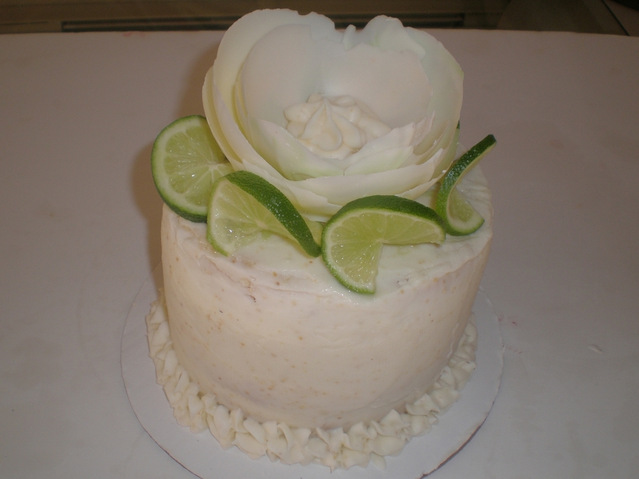 Margarita Cake/key Lime Cream Cheese Frosting  on Cake Central