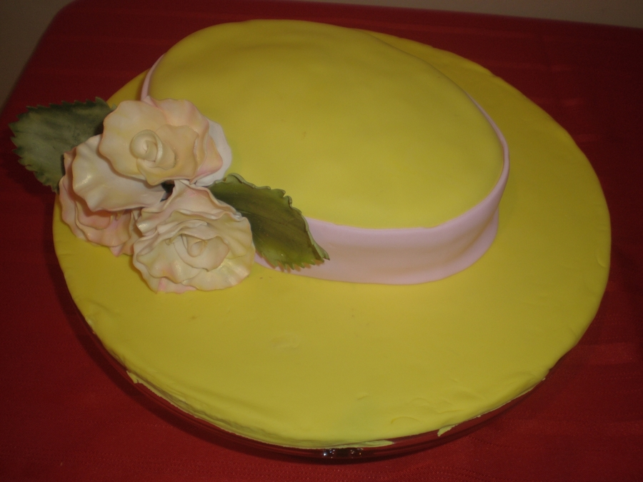 Easter Hat on Cake Central
