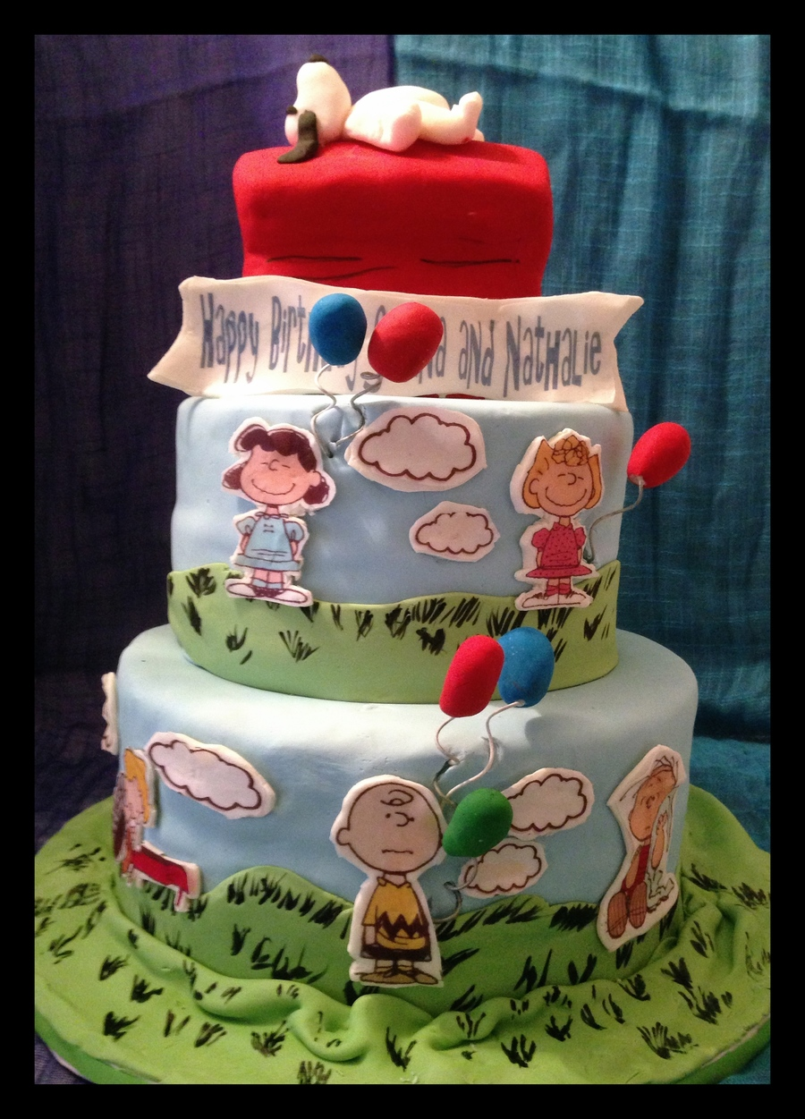 Peanuts Gang Birthday Cake Cakecentral