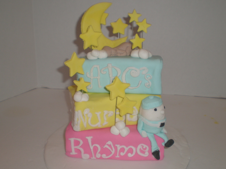 Baby Shower Books  on Cake Central