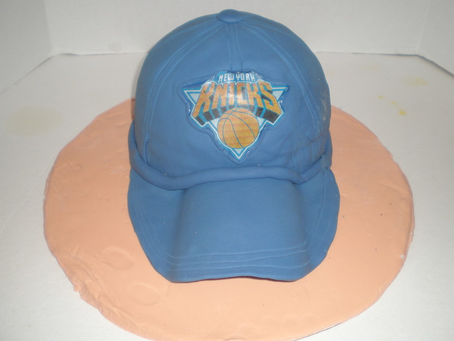 Knicks Baseball Cap Cake on Cake Central