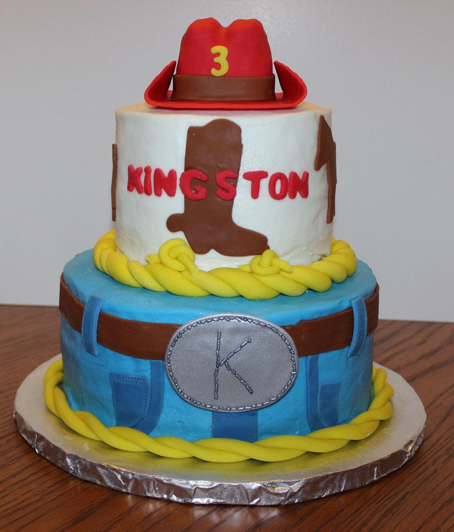 Cool Western Themed Birthday Cake Cakecentral Com Funny Birthday Cards Online Alyptdamsfinfo