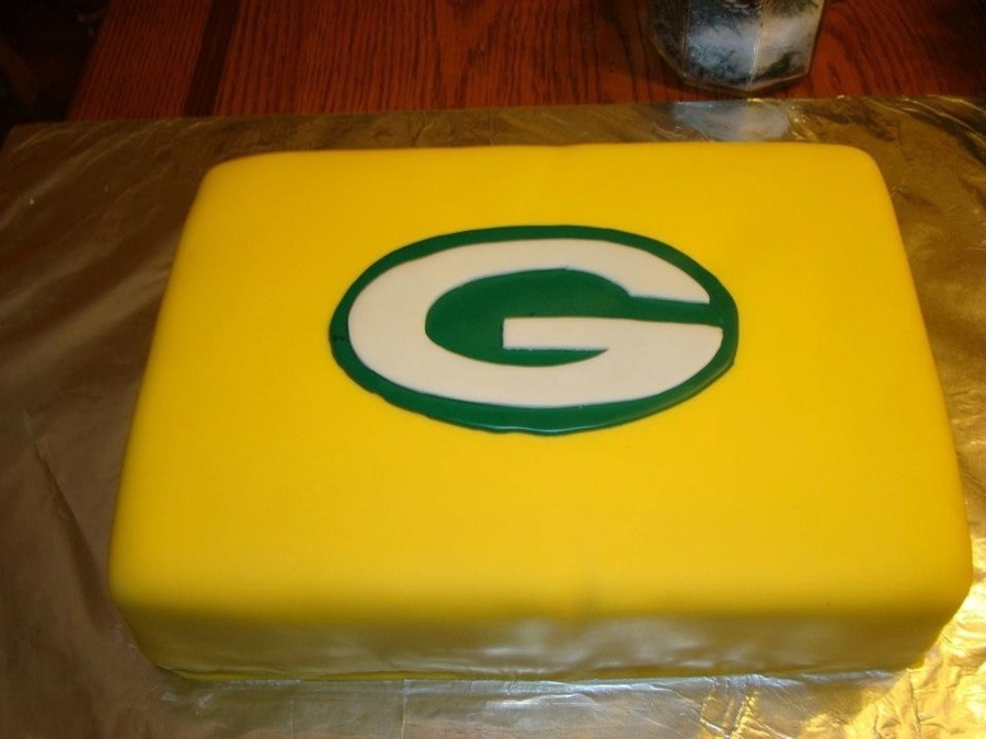 Green Bay Packers Cake on Cake Central