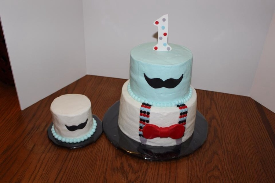 Mustache First Birthday Cakecentral