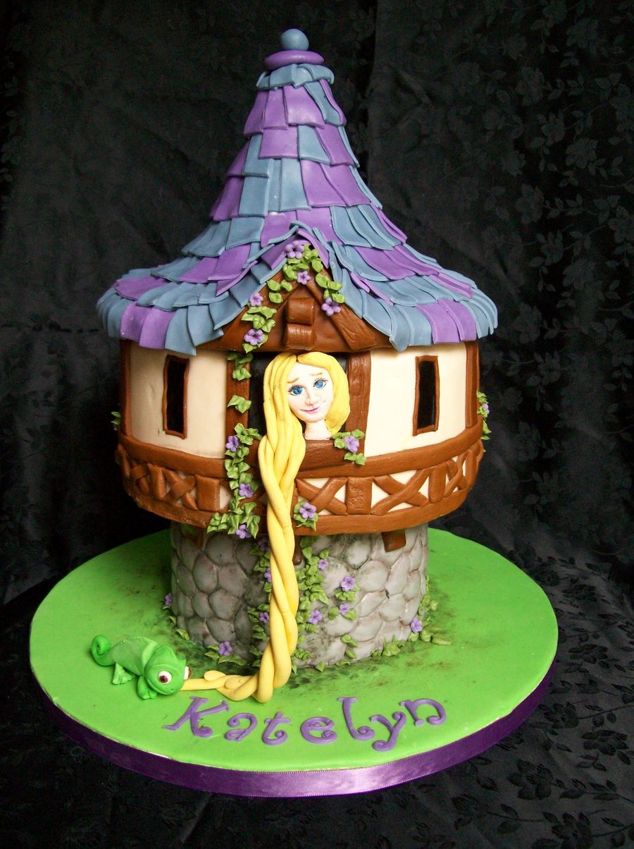 Rapunzel In Her Tower Cakecentral Com