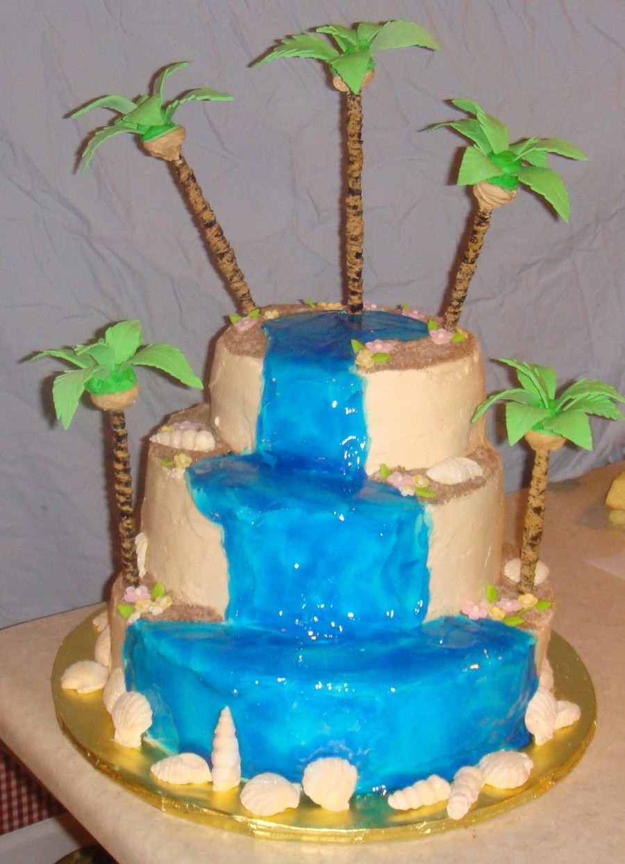Island Cake on Cake Central