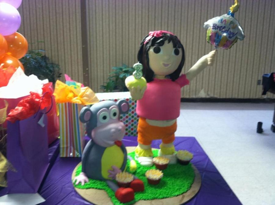 Dora And Boots on Cake Central