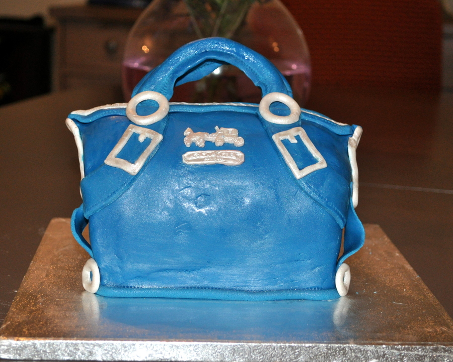 Coach Purse Cake on Cake Central