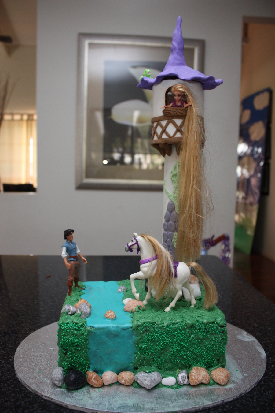 Rapunzel Let Down Your Hair! on Cake Central