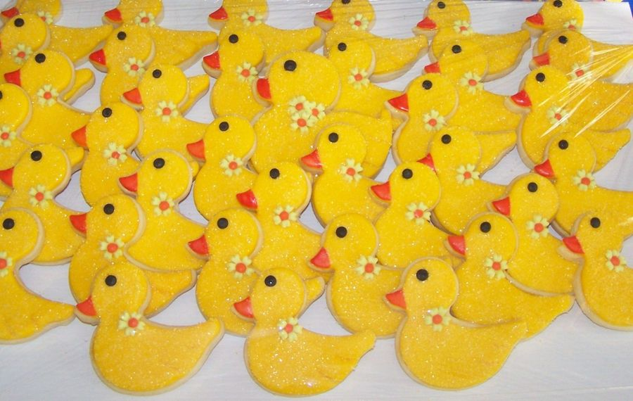 Yellow Ducks/tray  on Cake Central
