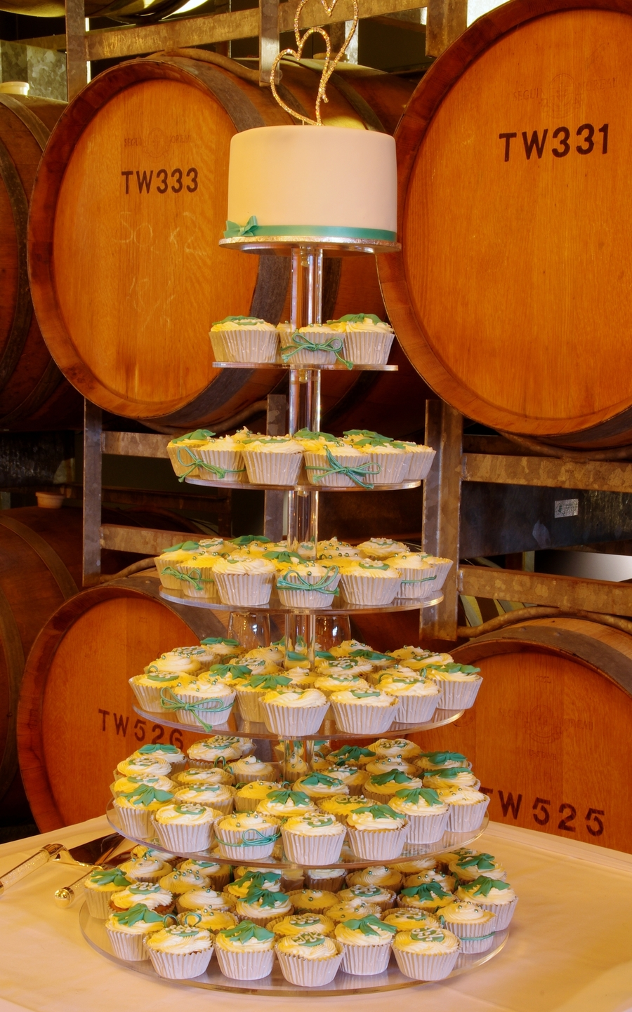 Wedding Kids' Sized Cupcakes on Cake Central