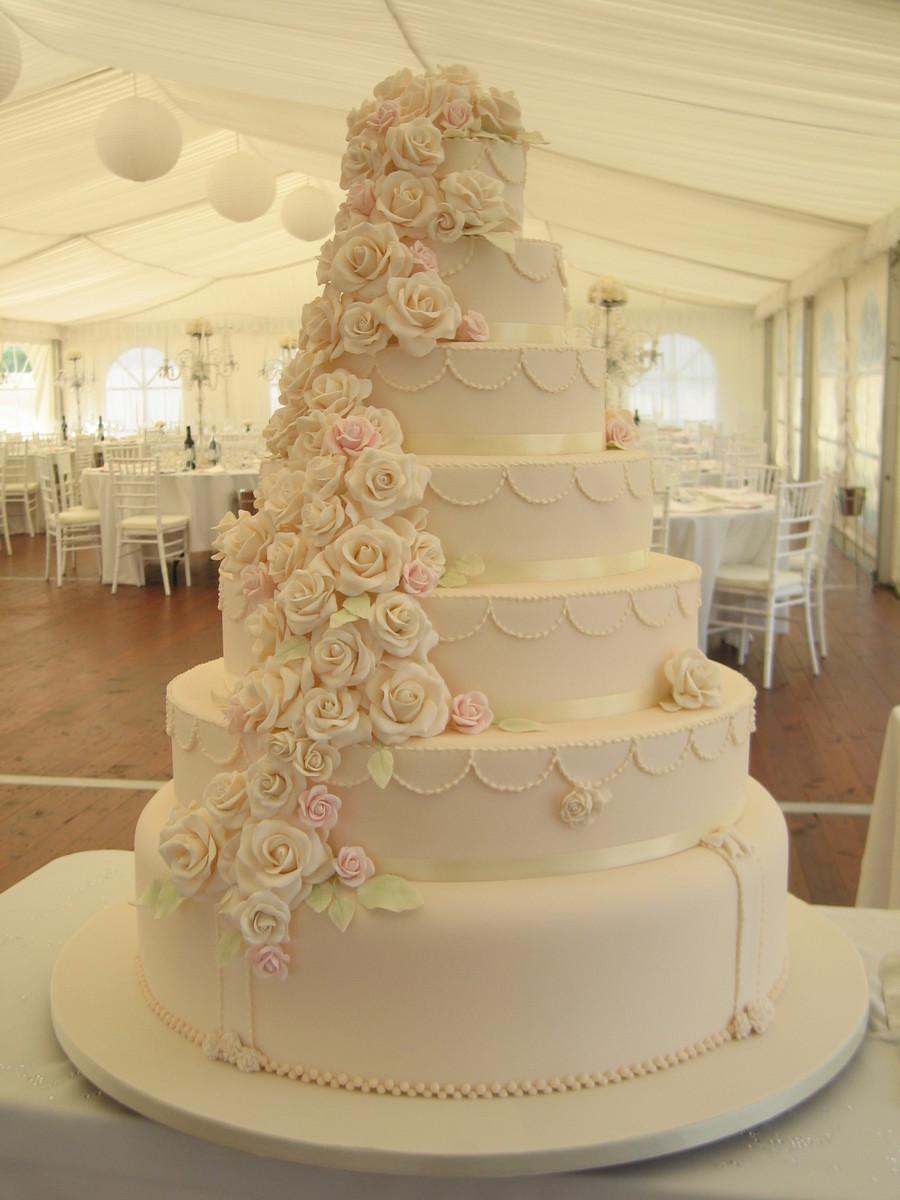 De And Troy\'s Wedding - CakeCentral.com