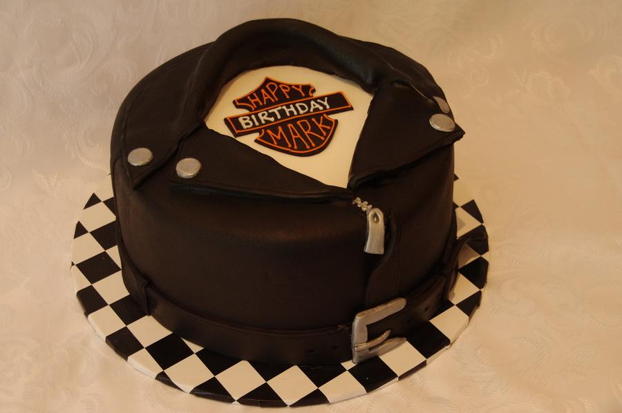 Mark S 50th Harley Davidson Theme Cake Cakecentral Com