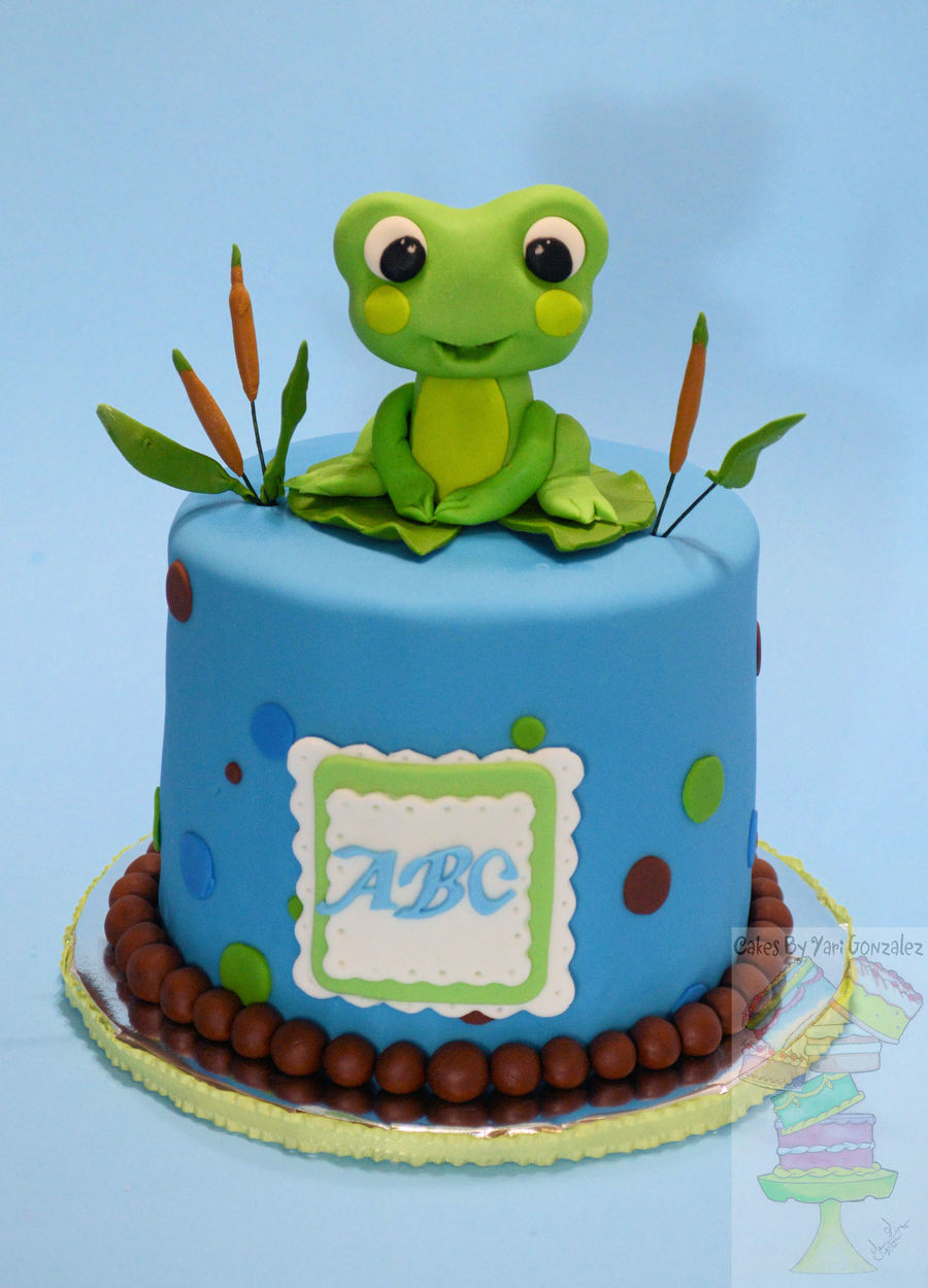 Baby Shower Fondant Cake Ideas
