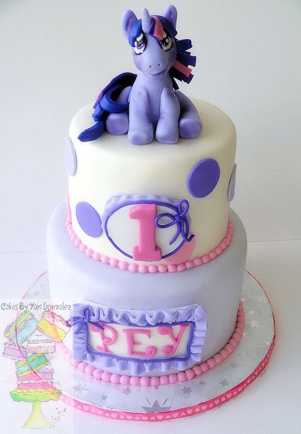 My Little Pony Twilight Birthday Cake